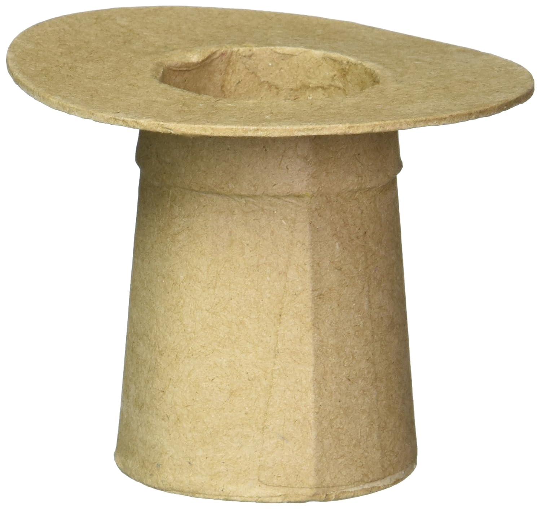 Darice Lot de 4 Chapeaux de Carolers en Papier m/âch/é