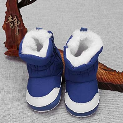 2a6a5dfff1cf Amazon.com  Everpert Unisex Baby Winter First Walkers Snow Boots ...
