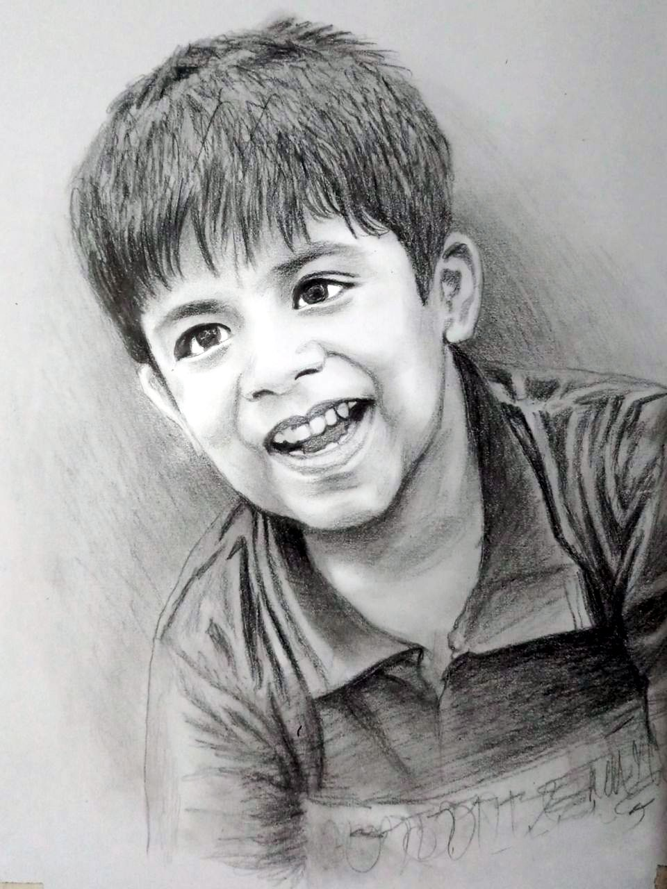 My magic gift pencil sketch portrait 12x18 amazon in home kitchen