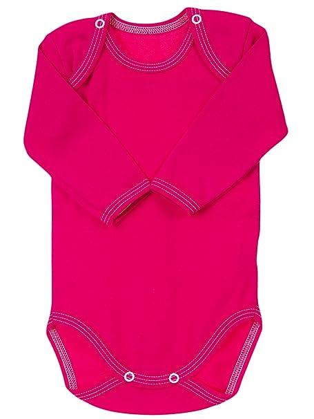 847326da8 The Little Legwear Company Bodysuit Vests Long Sleeved Baby Girls ...
