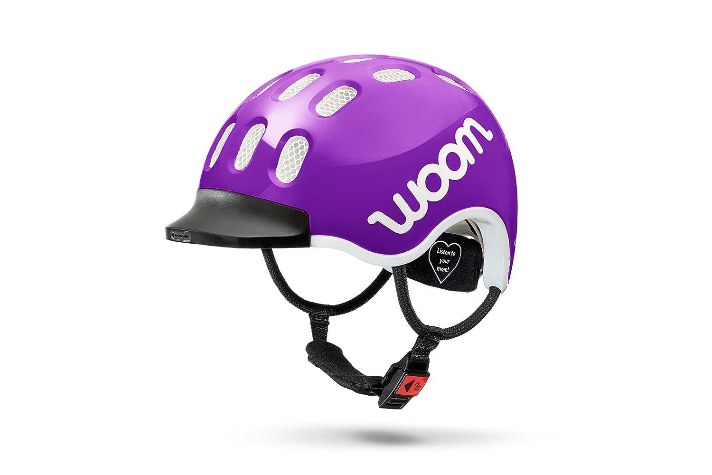 woom Kids Helm Kinderfahrradhelm Purple Haze S 48-53cm