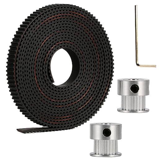 12 opinioni per Accessori per stampanti 3D: 2x GT2 20T Timing Pulleys + 2m GT2 Timing Belt Per