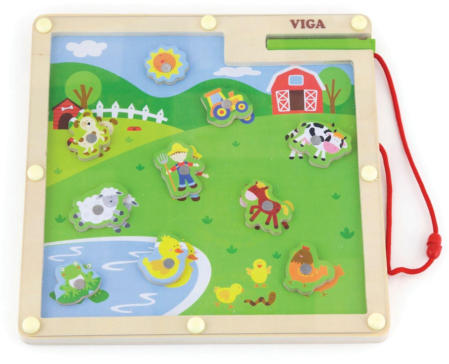 Magnetspiel Bauernhof Viga Toys