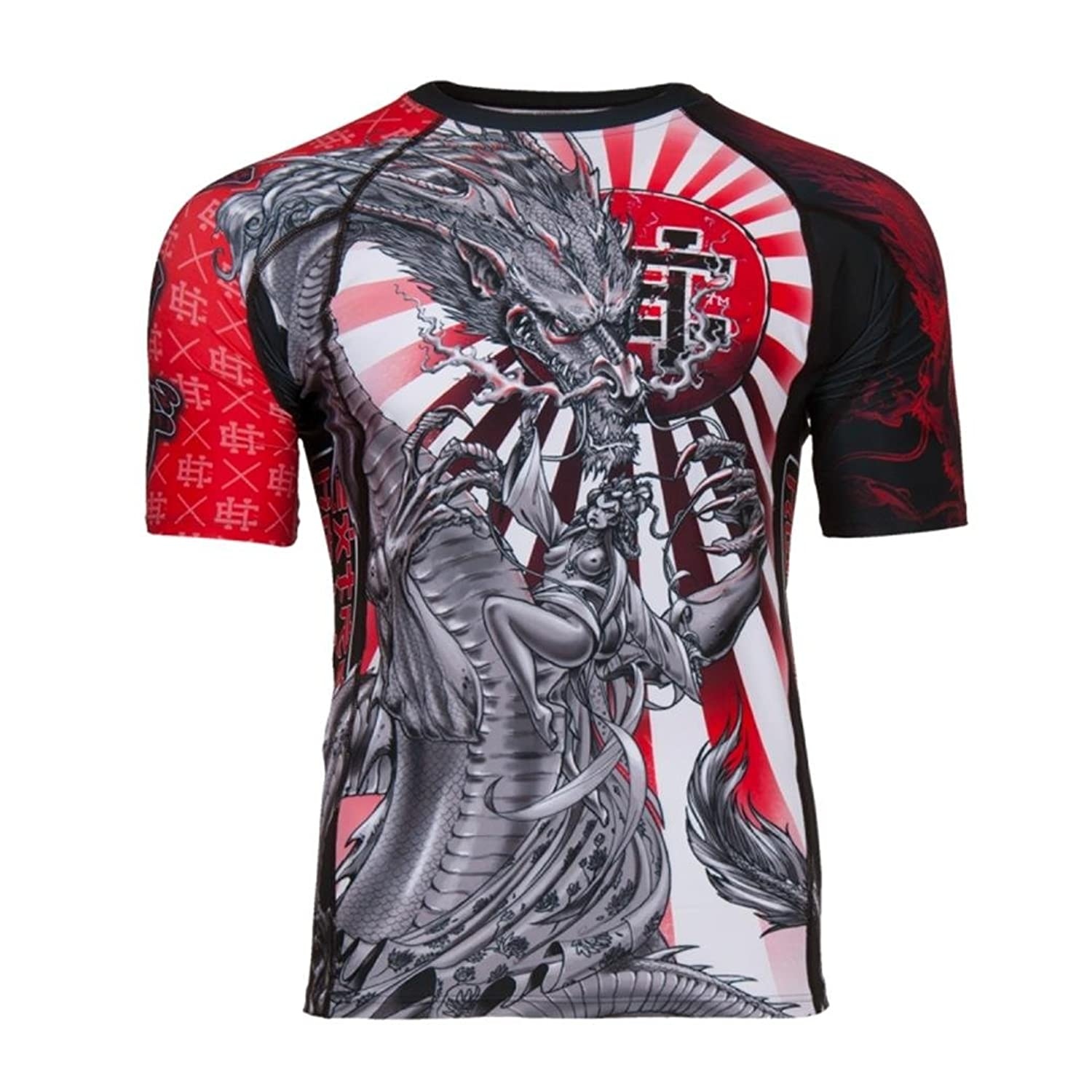 Image of Extreme Hobby Yakuza Short Sleeve Rash Guard Top