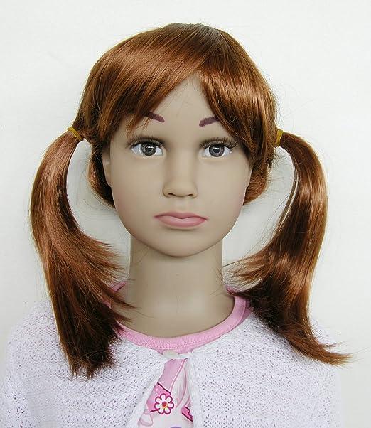 JI-DISPLAY infantil peluca pelucas WIG pelucas maniquí ...