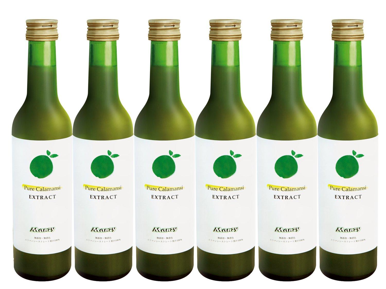 マンジー(Manzy) カラマンシーストレート果汁100% 300ml 6本 EXT3006 B01M4M2PQ8