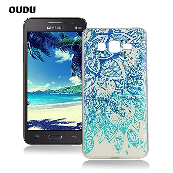 OuDu Silicone Case for Samsung Galaxy Grand Prime G530 Soft TPU Rubber Cover Flexible Slim Case Smooth Lightweight Skin Ultra Thin Shell Creative ...