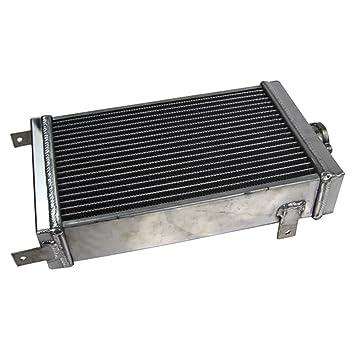 primecooling 3 fila Radiador de aluminio para Kart, karting, Engranaje, palanca Karts,