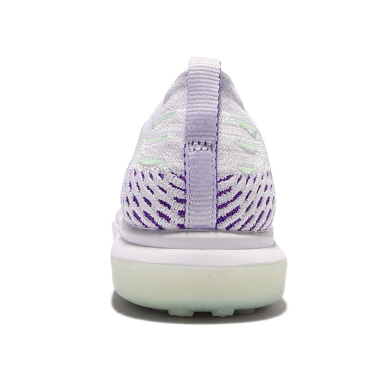 NIKE Flyknit Women's Air Zoom Fearless Flyknit NIKE Running Shoes B06XSTW7BQ 8.5 B(M) US|White/Wolf Grey-hyper Grape 72315b