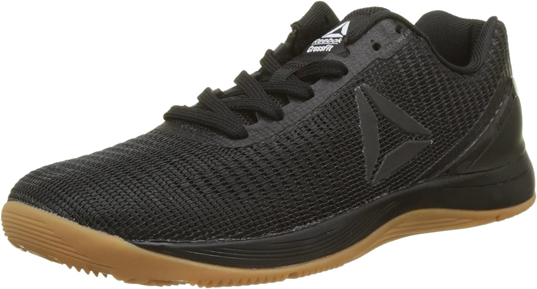 Reebok R Crossfit Nano 7.0 Negro Black////Rubber Gum Zapatillas de Running Unisex 42.5 EU M