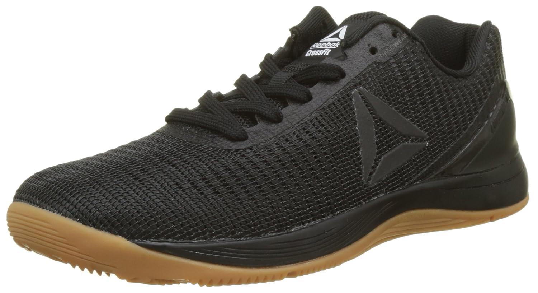 Reebok Herren R Crossfit Nano 70 Sneaker, Schwarz/Weiszlig;, XXL  41 EU|Schwarz (Black/Rubber Gum)