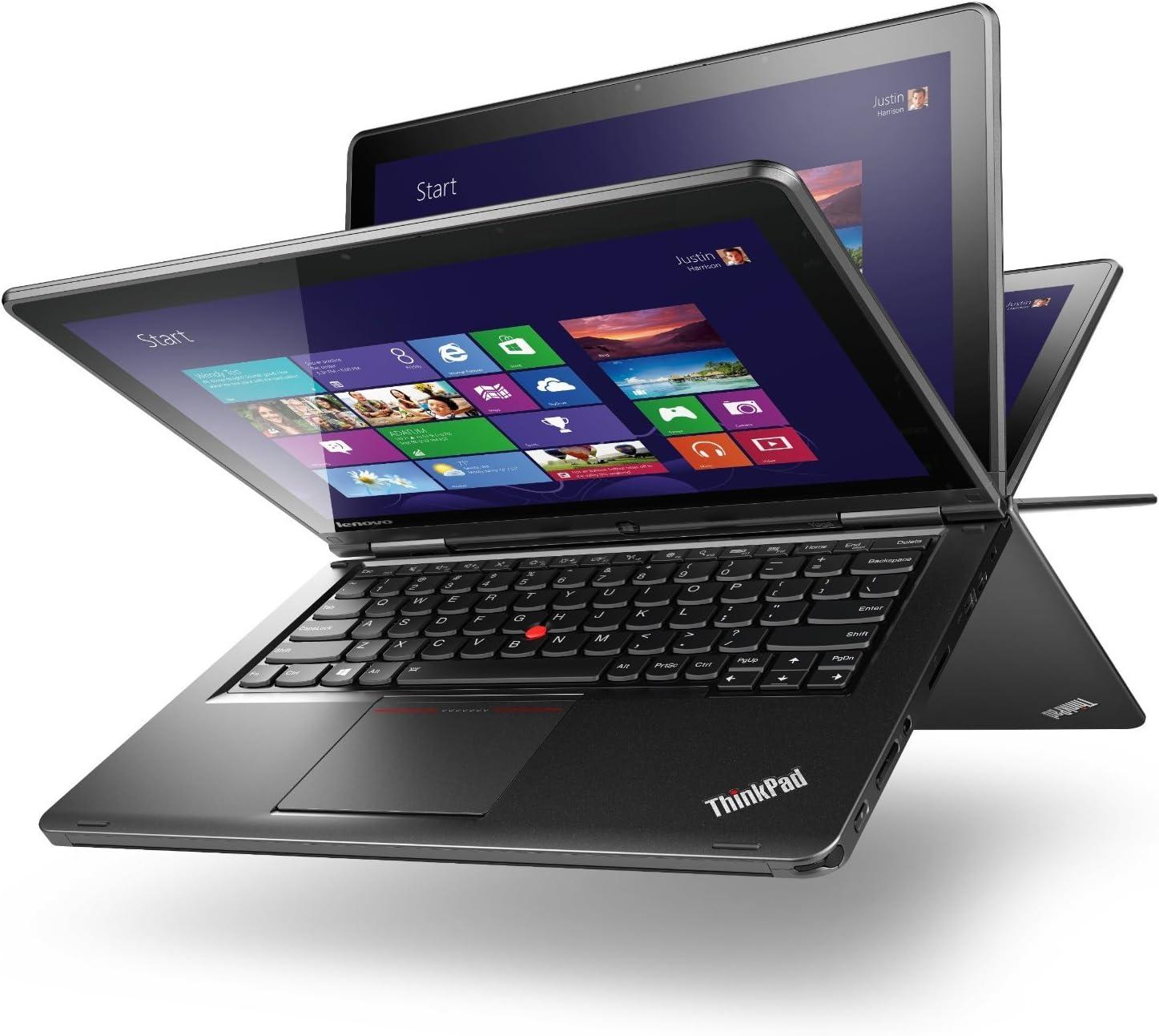 Lenovo Thinkpad S1 Yoga Convertible Touchscreen Ultrabook - Core i5-4300U, 8GB RAM, 180GB Solid State Drive, Windows 8.1 Professional, WiFi AC, 8 Cell Battery