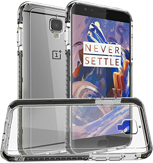 Orzly Funda OnePlus 3T / OnePlus 3, Fusion Bumper Case para ...