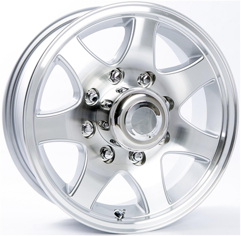 16 x 6 T02 Aluminum Trailer Wheel 8 on 6.50 Bolt Pattern