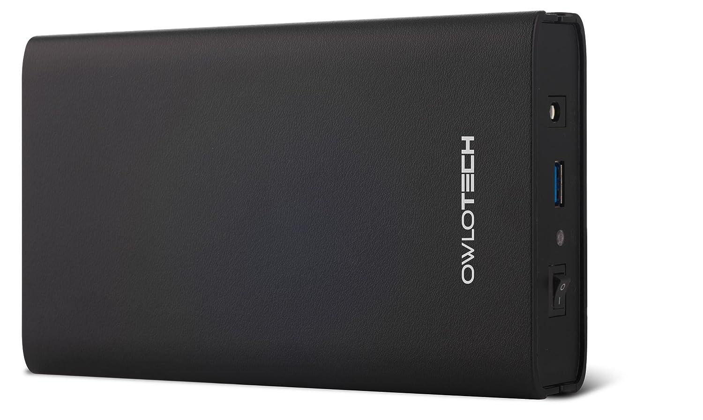 Owlotech OW1089 - Caja Externa USB 3.0 para Discos Duros SATA DE 3.5', Color Negro
