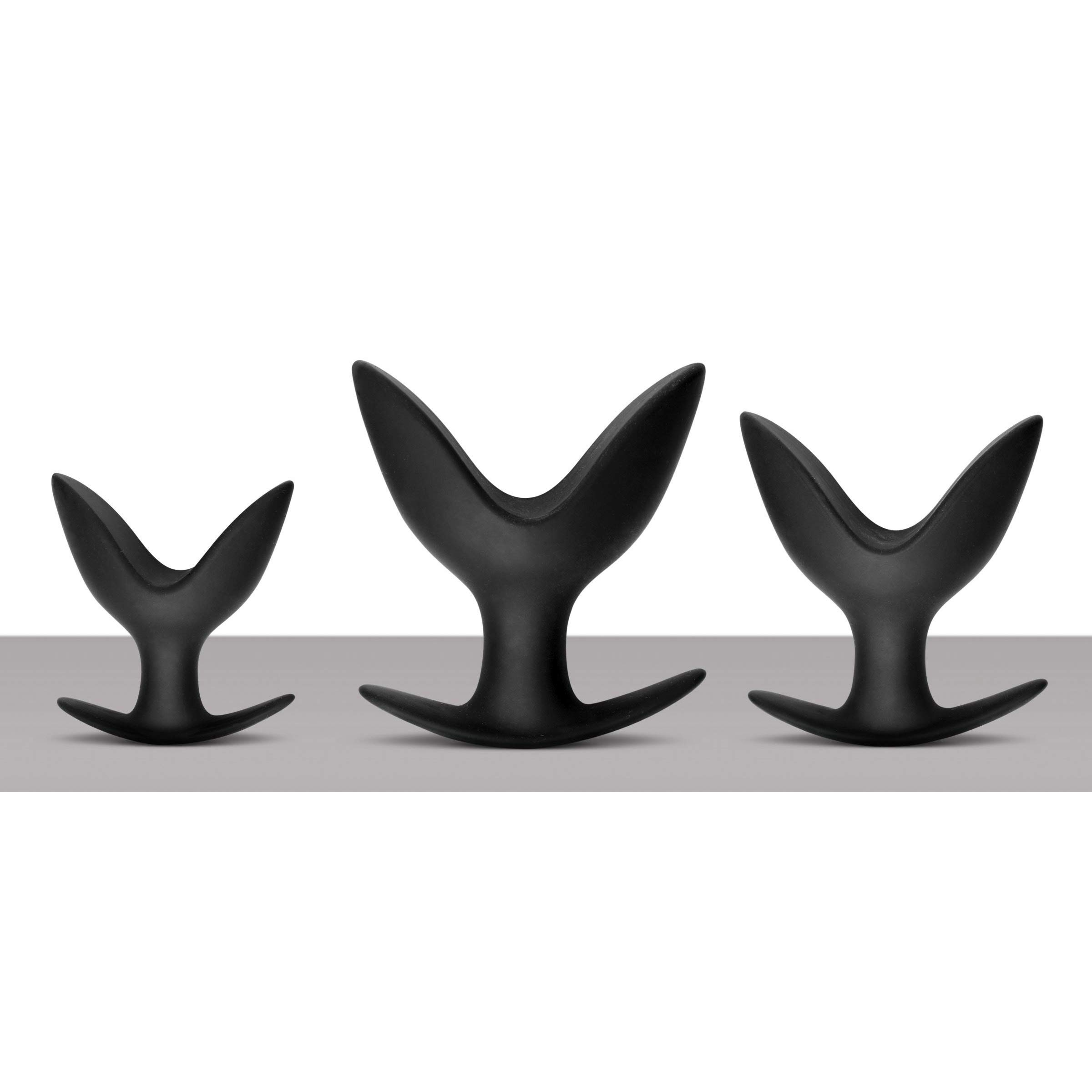 Master Series 3 Piece Silicone Anal Anchor Set