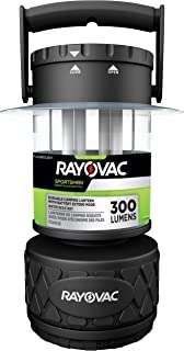 product image for Rayovac Sportsman LED Camping Lantern Flashlight, 300 Lumens Battery Powered LED Lanterns for Hurricane Supplies, Survival Kit, Camping Accessories