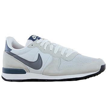 online retailer e4a0d 1c02a Nike Internationalist - Zapatillas de cuero para hombre gris gris 42.5EU   27.0cm blanco, gris Talla 45,5  Amazon.es  Deportes y aire libre