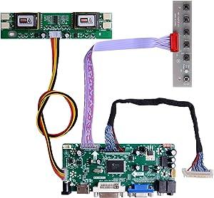GeeekPi NT68676 HDMI+VGA+DVI+Audio Input LCD Controller Driver Board or HSD190MEN4 M170EN06 17