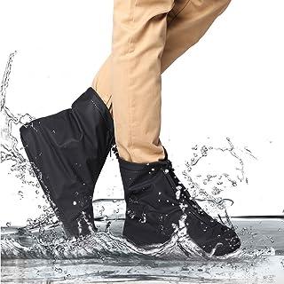 RioHouse réutilisable Housse de Chaussures étanche antidérapant Chaussures Housse Pluie et Neige météo extérieur équipement de Protection pour Homme et Femme