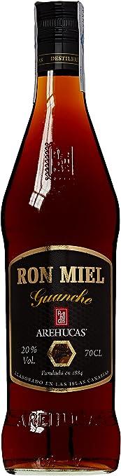 Guanche Arehucas - Ron Miel 70 cl 20º y 2 Ron Arehucas Carta ...