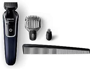 فيليبس ماكينة حلاقة متعددة الإستخدام 4 في 1 مقاومة للمياه وقابلة للشحن - QG3322