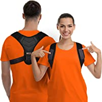 Posture Corrector For Men And Women, Upper Back Brace For Clavicle Support, Adjustable Back Straightener And Providing…