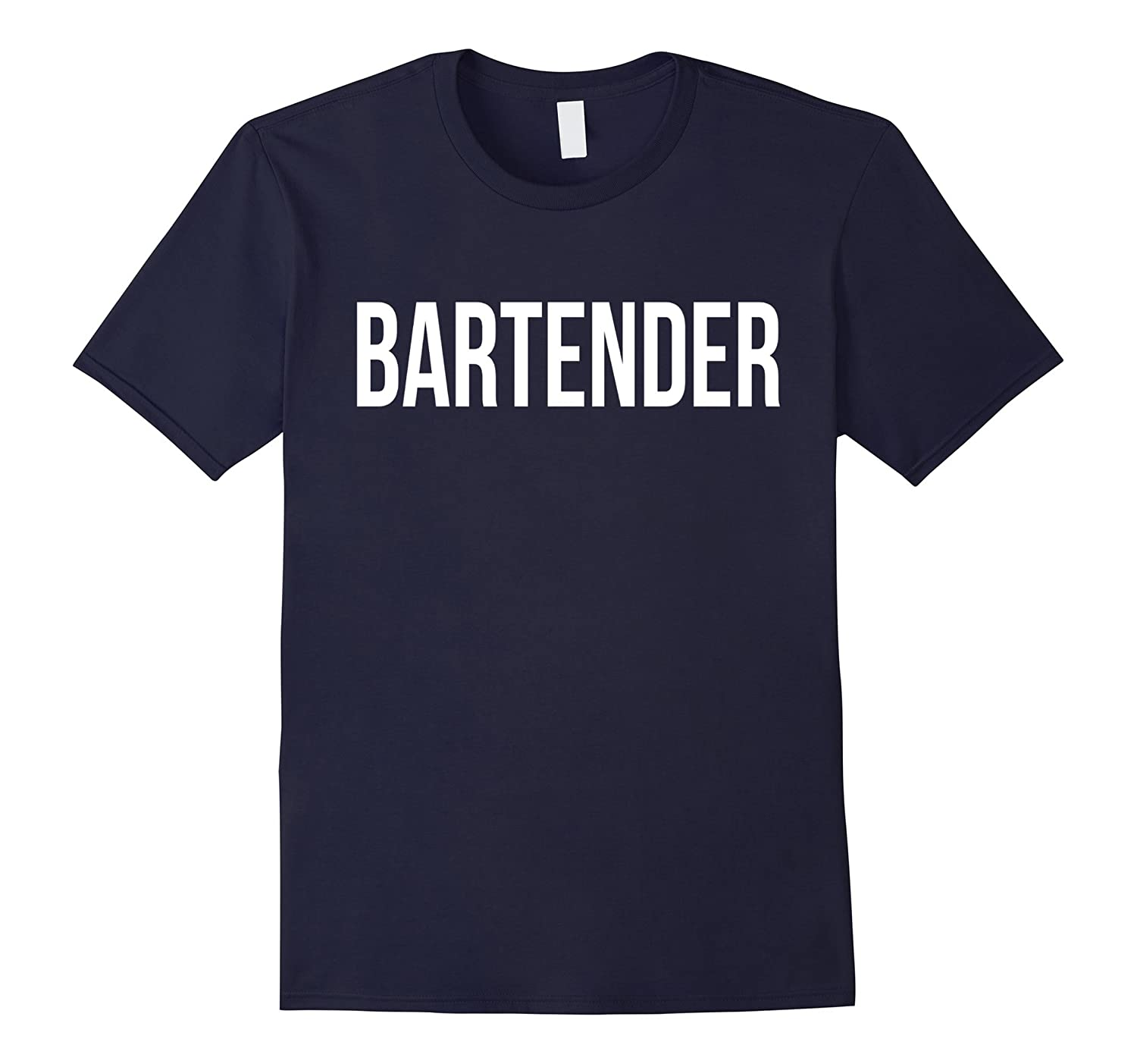 Awesome Bartender T-shirt Best Bartender Costume Ever-PL