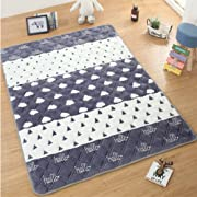 USTIDE Baby Crawling Mat Baby Play Mat Carpet Child Game Pad Blanket Picnic Mat,Hello Cloud