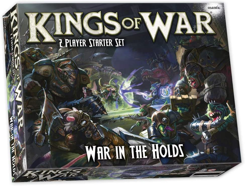 Kings of War 3rd Edition: War in The Holds 2 Player Starter Set