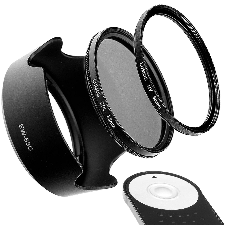 Set de accesorios compatible con Canon Kit EOS 100D 700D 750D 800D ...