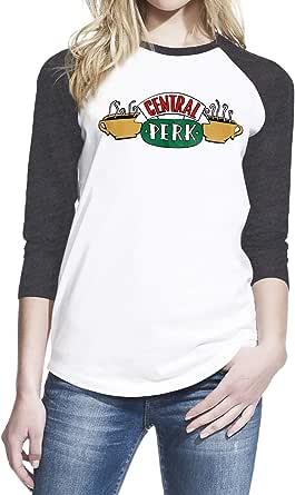 Wearuz Friends TV Show Central Perk Women Baseball Shirt