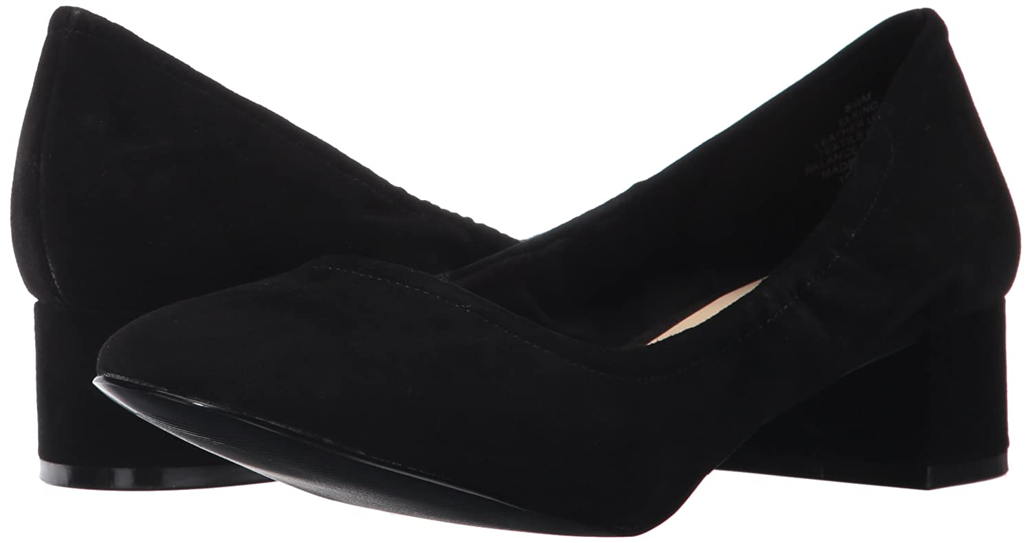 Nine West Women's M Edwards Suede Ballet Flat B06XKJ1D7L 8 M Women's US|Black Suede b6f367
