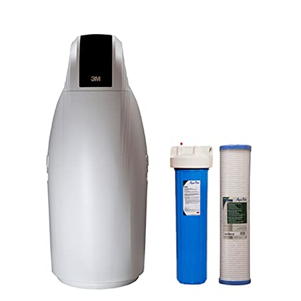 3M Fully Automatic Water Softener and Filtration System (Large ...