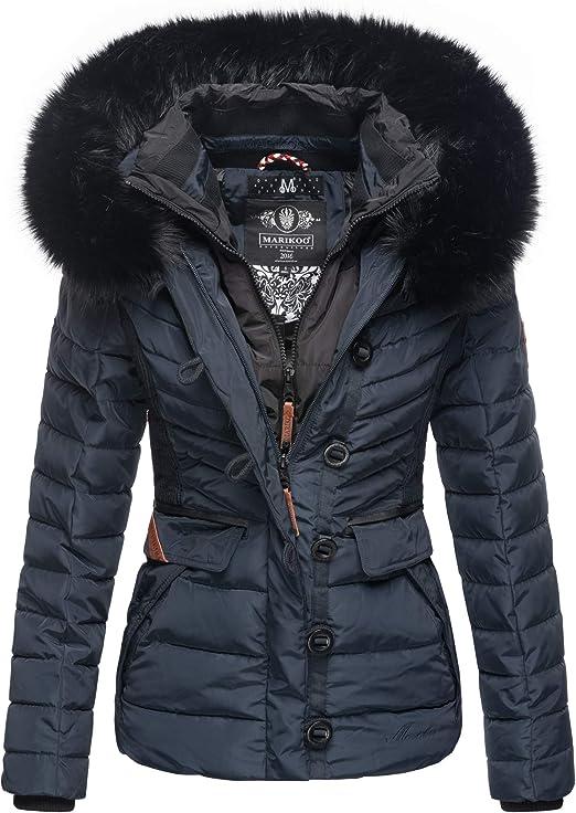 Jacke Damen Winter Jacke Stepp Parka Mantel gefüttert jacke Teddyfell Kurzparka