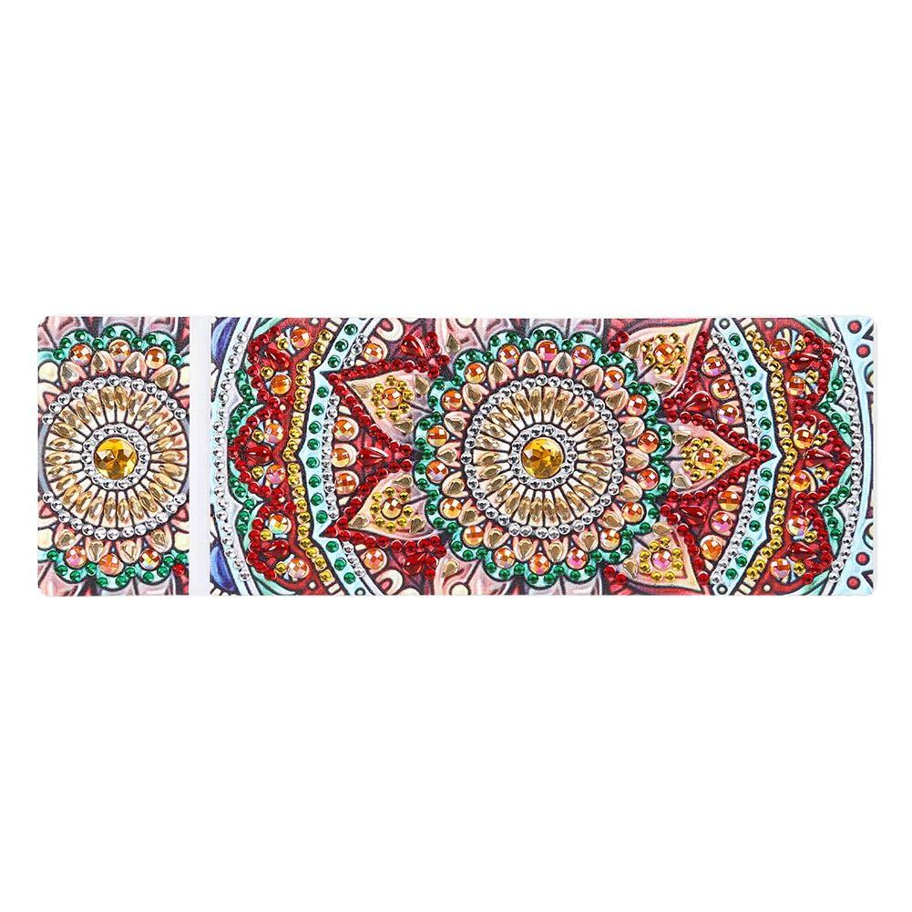 Freak A Diamond Painting Ideale Come Regalo per Ragazze e Ragazzi per Pittura a Mosaico Fai da Te 8.27 * 2.76 * 0.99 Mandala 1 Astuccio Trasparente con Scomparti per Bambini e Adulti