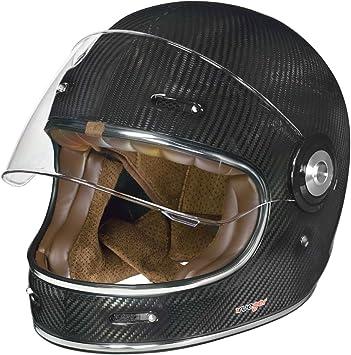 Rt 825 Carbon Integralhelm Motorradhelm Chopper Integral Retro Helm Rueger Größe M 57 58 Farbe Carbon Auto