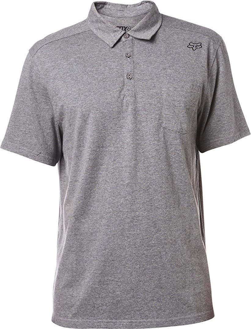 Polo Fox Legacy Heather Graphite (L, Gris): Amazon.es: Ropa y ...