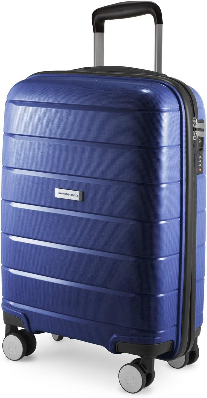 PRNZLBRG S, M, L Polypropyl/ène Turquoise HAUPTSTADTKOFFER extra l/éger Extensible Set de 3 Valise Bagages Rigide, 232 L