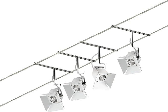 Paulmann 94074 Wire System Movie - Lámpara de techo (metal ...