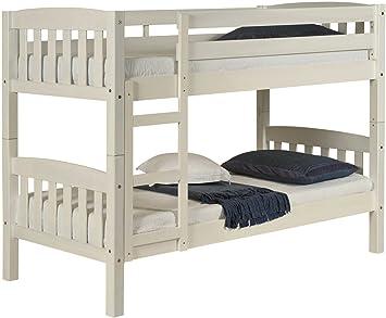 Etagenbett Kinder Massiv : Destock meubles etagenbett trennbar kinder 90 x 190 kiefer massiv