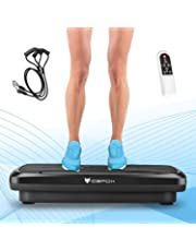 Icefox Fitness 3D Dual-Motor Vibrationsplatte mit Bluetooth 4.0 Lautsprecher / LCD Display & Fernbedienung / 9 Trainings-Programme