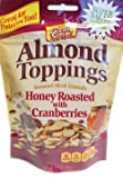 Good Sense Almond Toppings Honey Roasted with Cranberries, 3.5 Ounce
