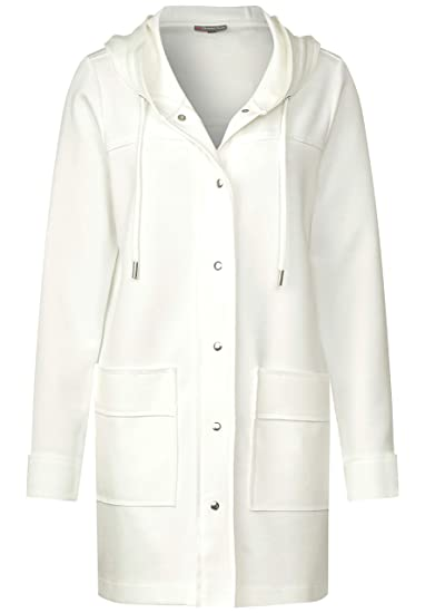 Street One Damen Softe Jacke im Hoodie Style: