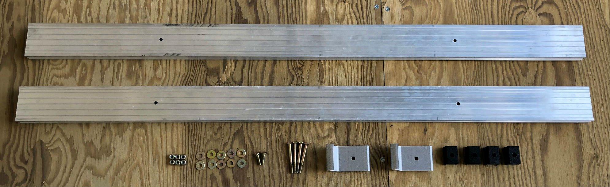 Triton 12910 Sidesaddle Ramp Kit by Triton