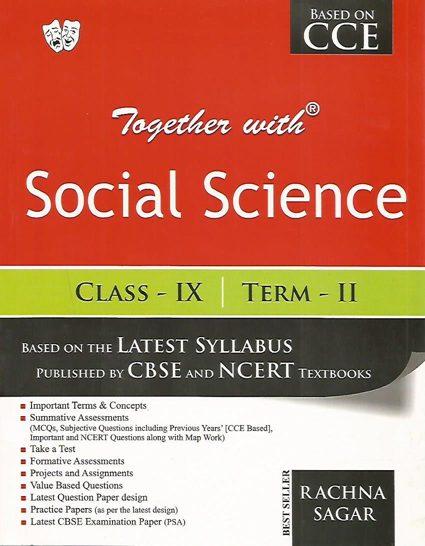 buy together with social science class ix term ii book online at low rh amazon in cbse guide class 9 social science geography cbse guide for class 9 social science notes