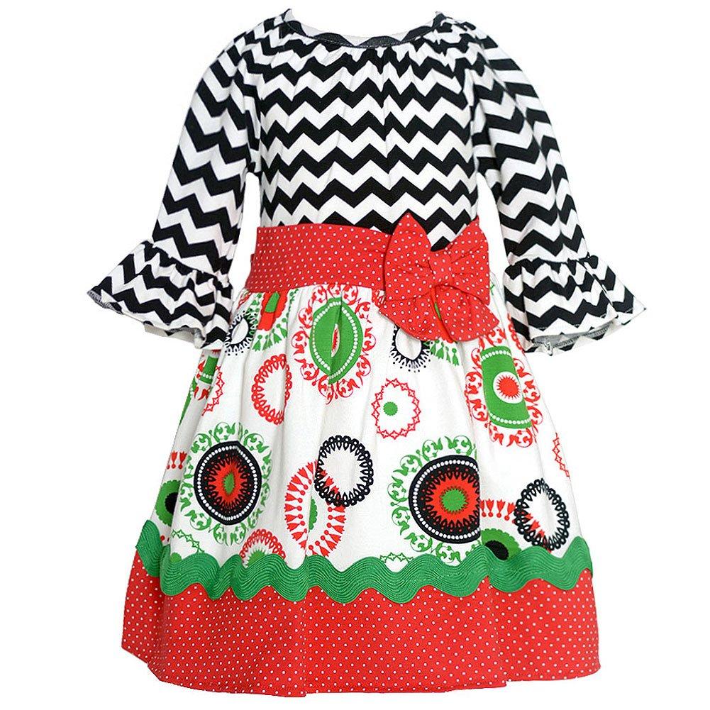 Rare Editions Christmas Dresses.Amazon Com Rare Editions Baby Girls Black White Chevron