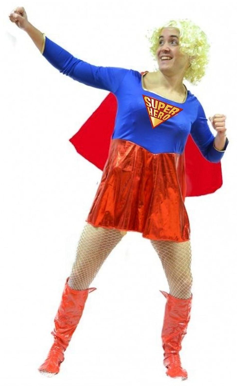 Disfraz de Supermoza - Hombre, L: Amazon.es: Ropa y accesorios