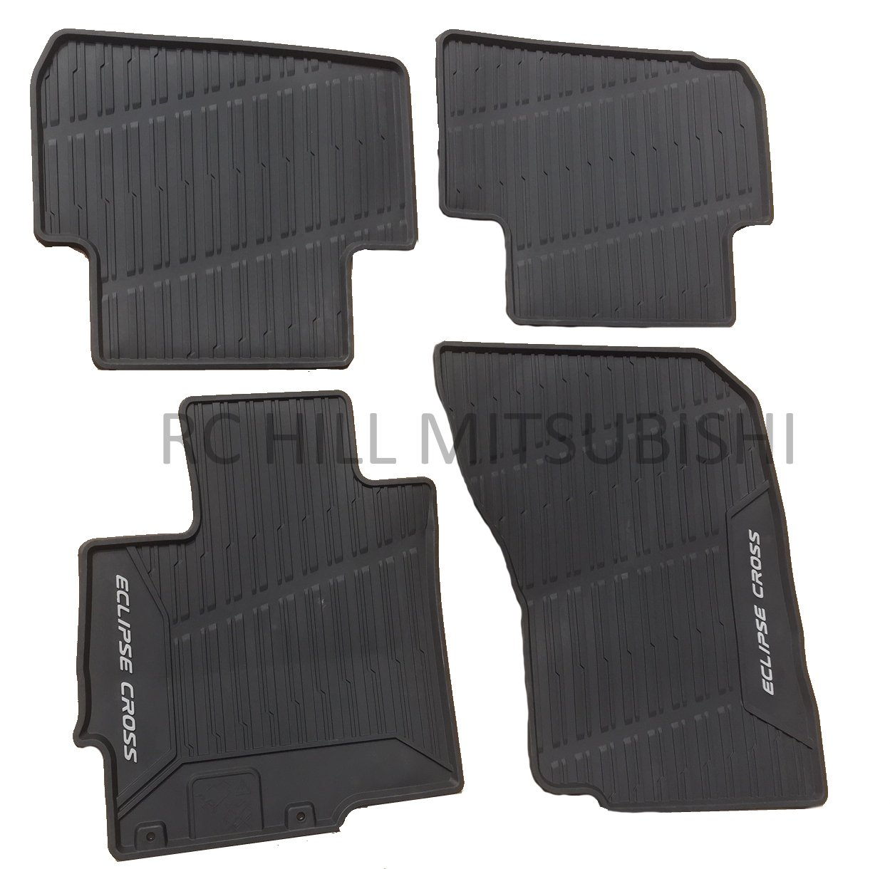 Mitsubishi in Stock! 2018 Genuine Eclipse Cross All Weather Rubber MATS Floor MZ314979