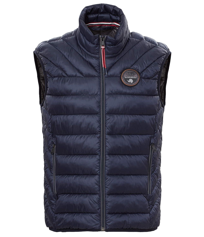 Napapijri Aerons Vest Jacke, Chaleco para Hombre: Amazon.es: Ropa y accesorios